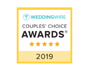 Click here to explore our wedding wire badge!
